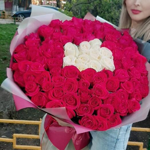 Будет 101 роза