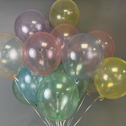 Каскад из воздушных шаров Мыльный пузырь