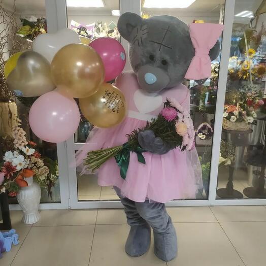 Поздравление от мишки Тедди
