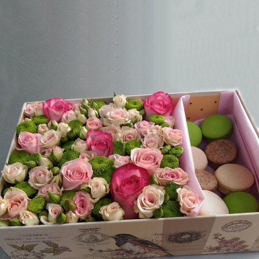 Самой нежной (Коробочка 278): букеты цветов на заказ Flowwow