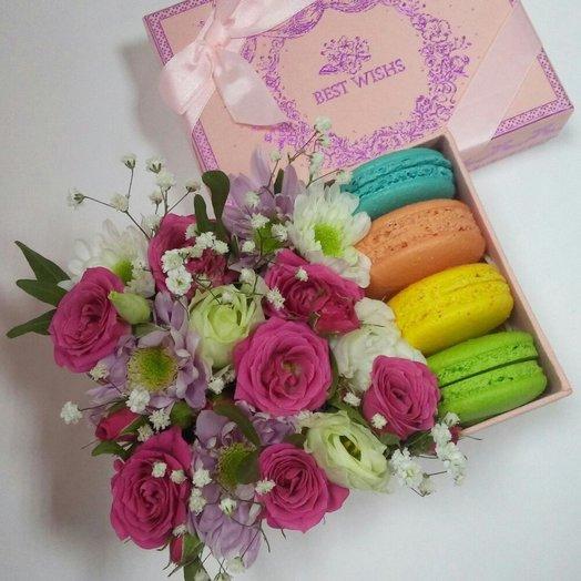 Сладкая радуга: букеты цветов на заказ Flowwow