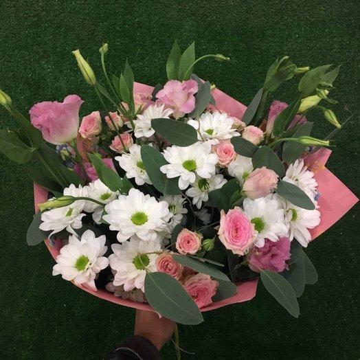 Нежный подарок: букеты цветов на заказ Flowwow