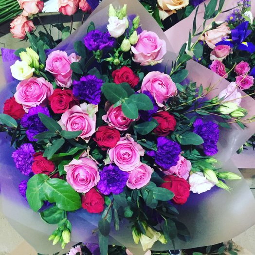 Букет Весенния звезда : букеты цветов на заказ Flowwow