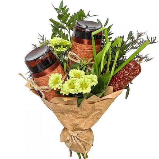 Настоящий букет для МУЖЧИН: букеты цветов на заказ Flowwow
