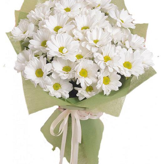 Букет из хризантем (5шт.): букеты цветов на заказ Flowwow
