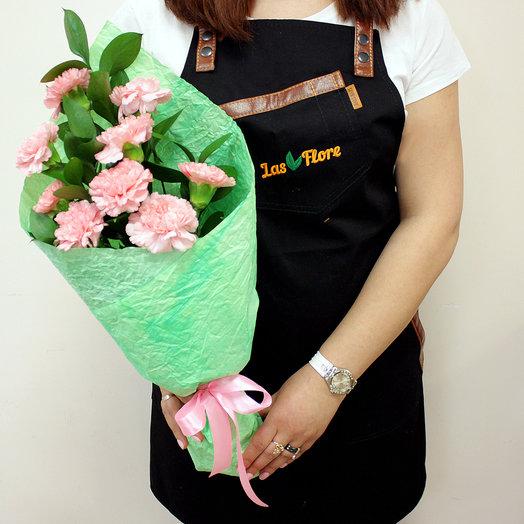 Букет Розовые гвоздики: букеты цветов на заказ Flowwow