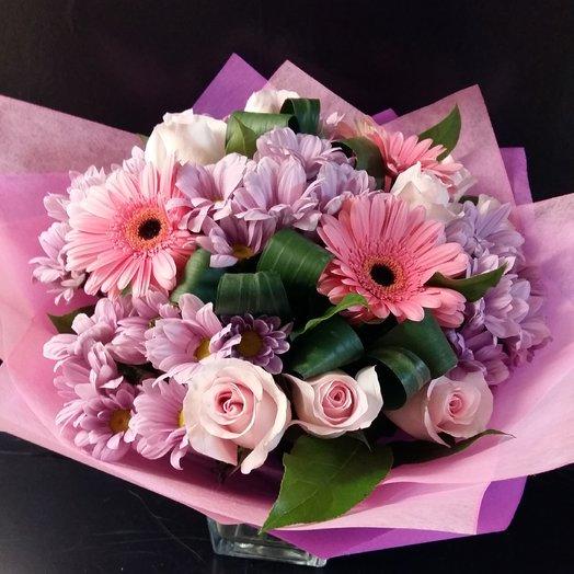 Розовое облако: букеты цветов на заказ Flowwow