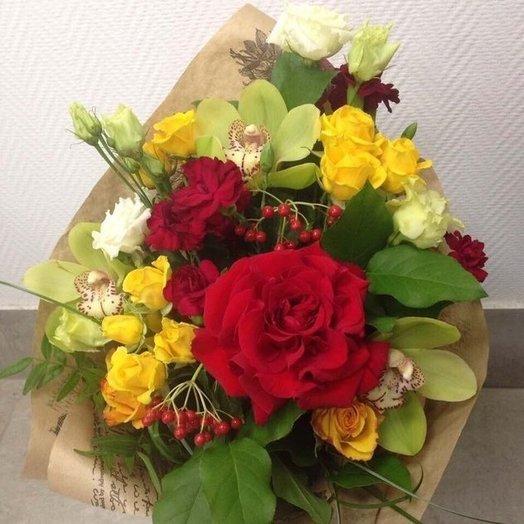Букет Проявление чувств: букеты цветов на заказ Flowwow