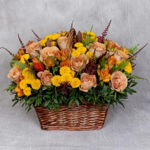 Палитра осени : букеты цветов на заказ Flowwow