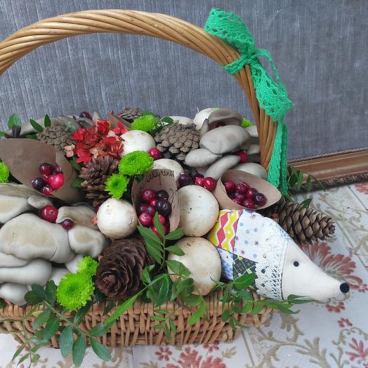 Осеннее лукошко: букеты цветов на заказ Flowwow