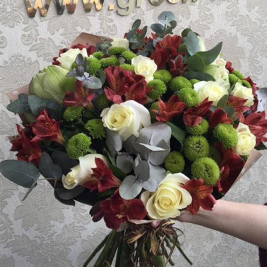 Джентльмен: букеты цветов на заказ Flowwow