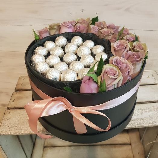 Сладкие розочки: букеты цветов на заказ Flowwow