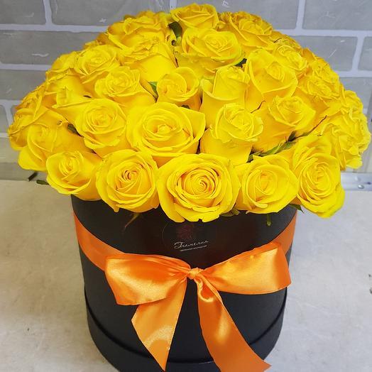 Шляплая коробочка: букеты цветов на заказ Flowwow