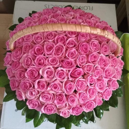 Корзинка мечты: букеты цветов на заказ Flowwow