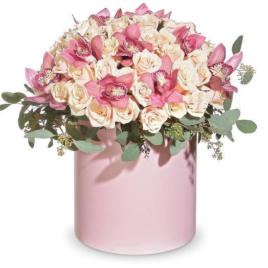 """Цветочная композиция """"Счастливый день"""": букеты цветов на заказ Flowwow"""