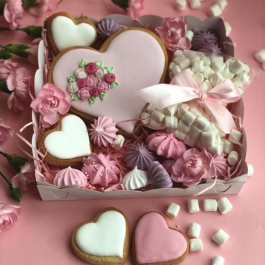 Прянички и маршмеллоу: букеты цветов на заказ Flowwow