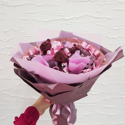 Букет из игрушек5: букеты цветов на заказ Flowwow