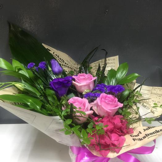 Прекрасные новости: букеты цветов на заказ Flowwow
