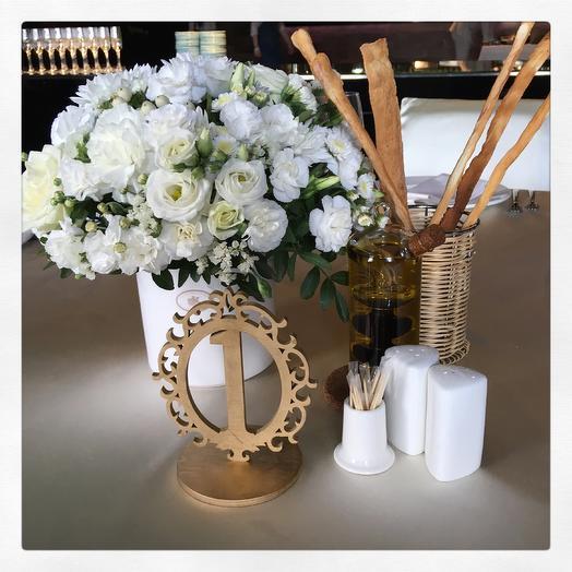 Композиция на гостевой стол: букеты цветов на заказ Flowwow