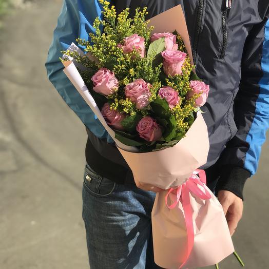 Букет сиреневых роз: букеты цветов на заказ Flowwow