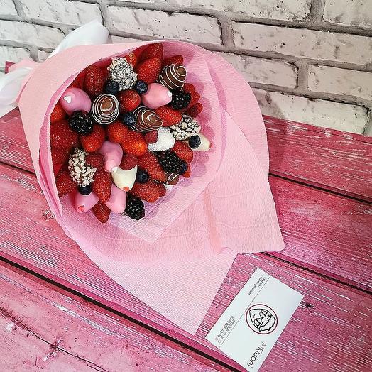 Букет BERRY MIX: букеты цветов на заказ Flowwow