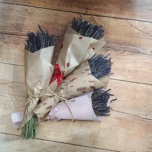 Пучок лаванды: букеты цветов на заказ Flowwow