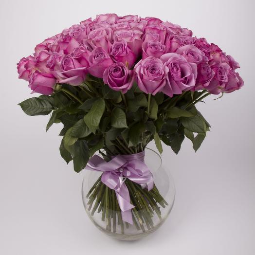 101 элитная эквадорская роза Кул Уотер: букеты цветов на заказ Flowwow