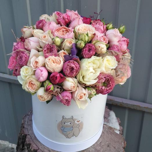 Коробочка Пионовидных роз