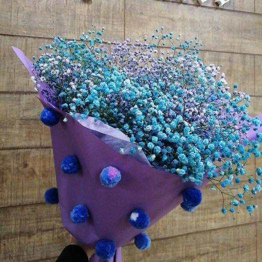 Необыкновенная гипсофила: букеты цветов на заказ Flowwow