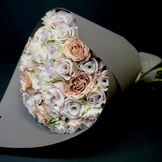 Розы PREMIUM: букеты цветов на заказ Flowwow