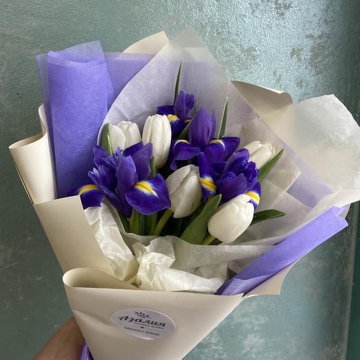 Весна в душе: букеты цветов на заказ Flowwow