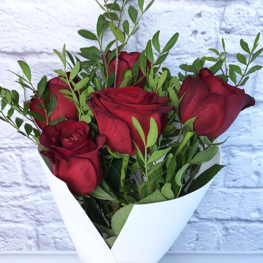 Букет «Amore»: букеты цветов на заказ Flowwow