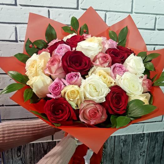 Ассорти Бум: букеты цветов на заказ Flowwow
