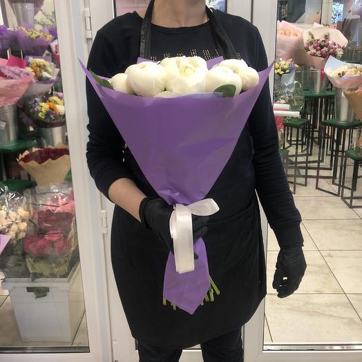 Букет пион: букеты цветов на заказ Flowwow