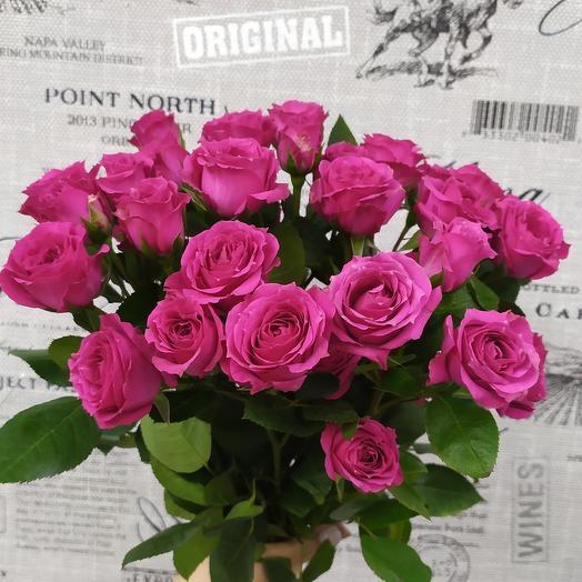 Роза кустовая: букеты цветов на заказ Flowwow