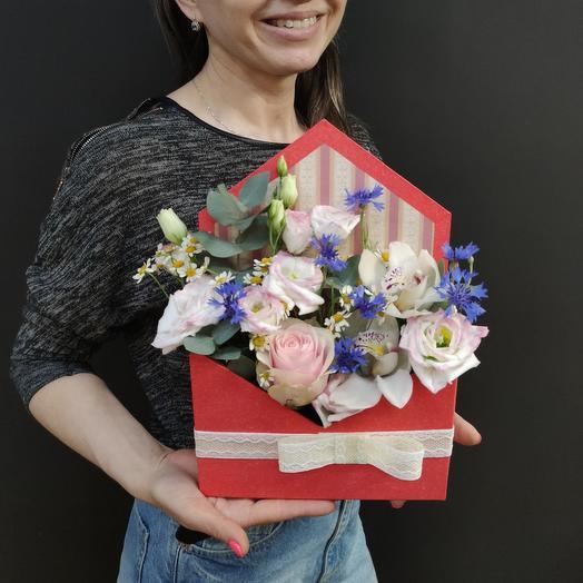 Вам письмо: букеты цветов на заказ Flowwow