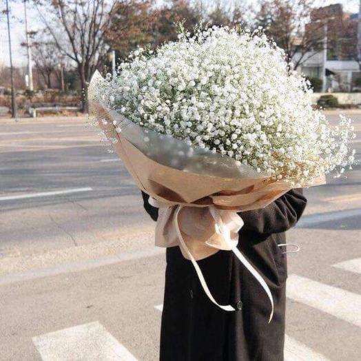 """Bouquet """" White cloud»"""