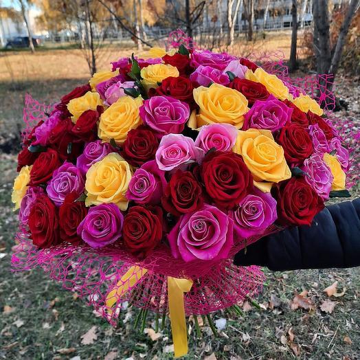 75 роз Россия