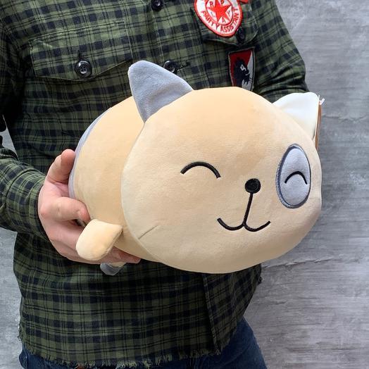 Мягкая игрушка «Кошка-подушка»