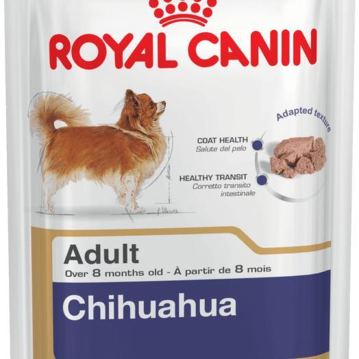 Royal Canin ADULT CHIHUAHUA консервы (паштет) для собак породы чихуахуа  85 г