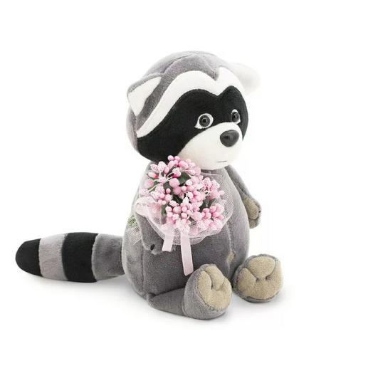 Мягкая игрушка Енотик Дэйзи Розовые мечты