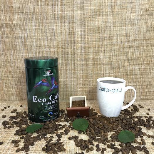 Кофе молотый Eco Tarrazu Коста-Рика 227 грамм