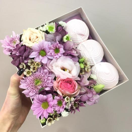 Сладкая, цветочная коробочка
