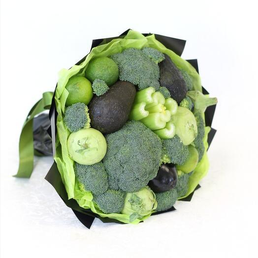Овощной букет с брокколи