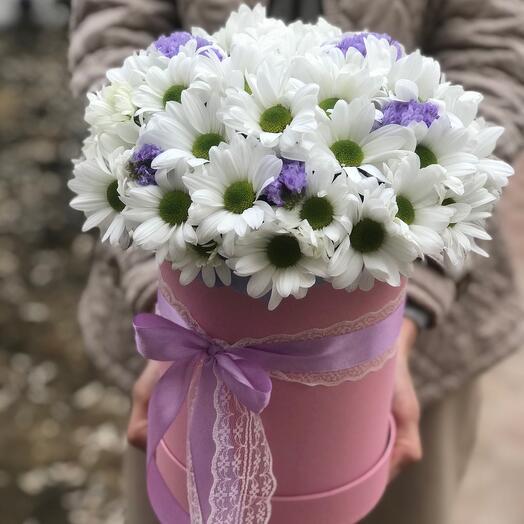 Коробочка хризантем