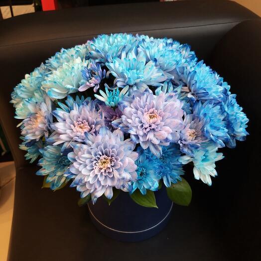 Цветы в коробке для мужчины