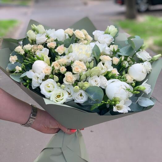 1 зелено-белая красота 😍