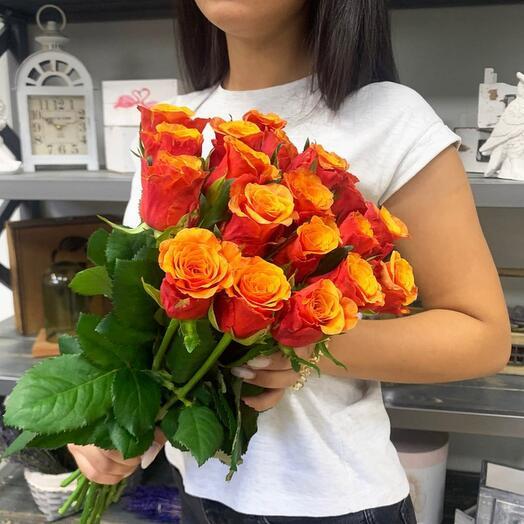 Розы Испания 19шт