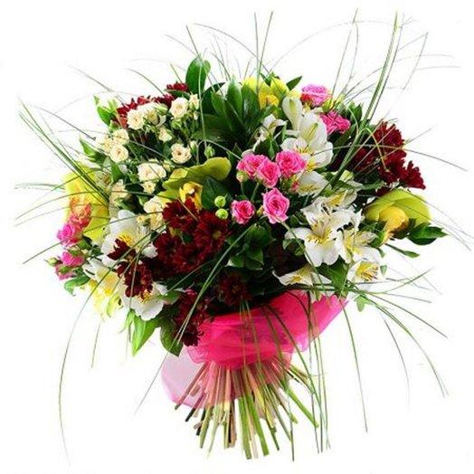 Сборный букет Бермуды: букеты цветов на заказ Flowwow