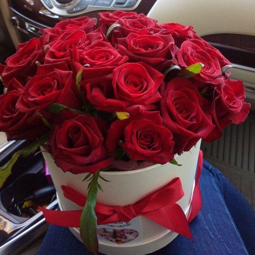 17 роз в коробке: букеты цветов на заказ Flowwow